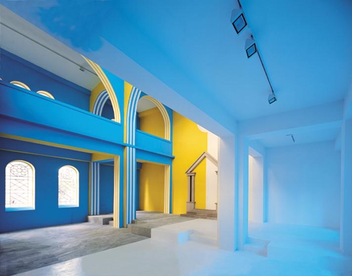 expositions glissements de la lumi re sur la couleur centre d 39 art contemporain la. Black Bedroom Furniture Sets. Home Design Ideas