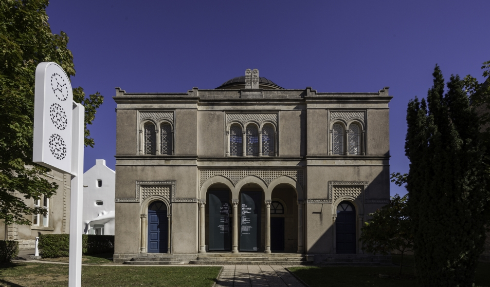Centre d'art contemporain la synagogue de Delme. Photo : OH Dancy